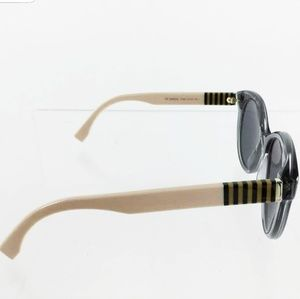FENDI smoke gray polarized sunglasses